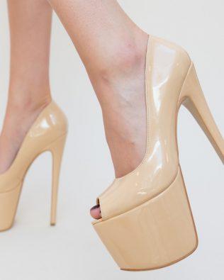 Pantofi Gheraso Nude