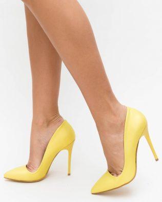 Pantofi Bedes Galbeni