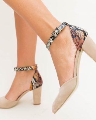 Pantofi Bia Bej