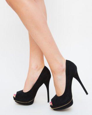 Pantofi Candi Negri