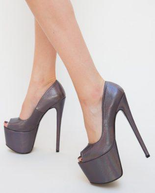 Pantofi Gheraso Gri
