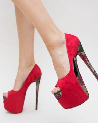 Pantofi Merlino Rosii