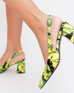 Pantofi Nona Verzi