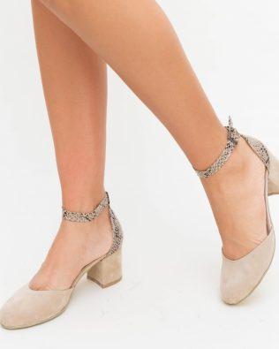 Pantofi Piko Bej