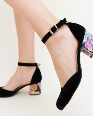 Pantofi Piko Negri