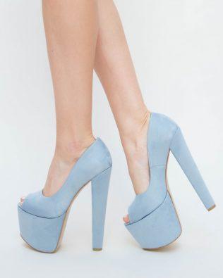 Pantofi Sinty Albastri