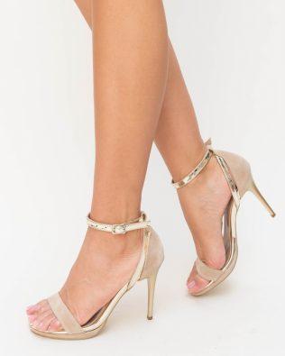 Sandale Guzu Bej