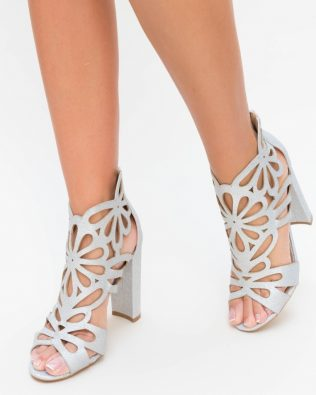 Sandale Numan Argintii