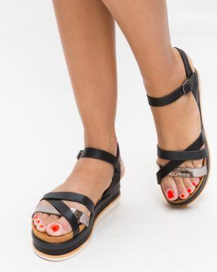 Sandale Merkana Negre