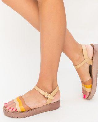 Sandale Oscar Camel